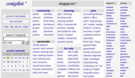 Craigslist Singapore